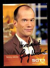 Georg Uecker SAT 1 Autogrammkarte Original Signiert # BC 91377