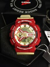 2014 G-SHOCK GA110CS-4A IRON MAN RED GOLD LIMITED gundam Nyc Ricky Colt Eminem