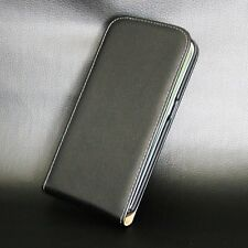 For Huawei / HTC Models Luxury Genuine Leather Cover Magnetic Flip Phone Case