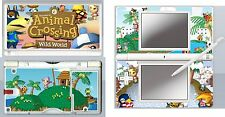 nintendo DS Lite - ANIMAL CROSSING - 4 Piece Decal Sticker Skin