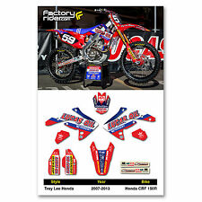 2007 - 2015  HONDA CRF 150R TLD Dirt Bike Graphics kit Motocross Graphics Decal