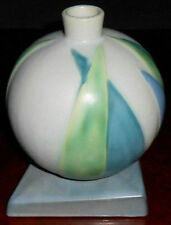 ROSEVILLE Futura LOTUS LEAF BALL  7 1/2 inch Deco Vase