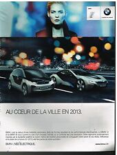 Publicité Advertising 2011 La BMW i
