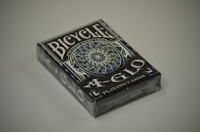Bicycle A-Glo Blue Ultra Violet Playing Cards Deck Brand new