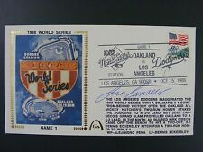 Jose Canseco Autographed Signed Gateway Silk Cache Envelope 1988 World Series