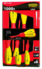 MODECO insulated screwdriver set 6 elements, MN-11-070