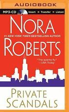 Private Scandals by Nora Roberts (2014, MP3 CD, Unabridged)