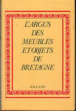 argus des meubles et objets de Bretagne par A. Royer, photos objets métiers