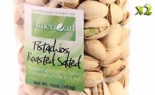 20oz Gourmet Style Bags of Roasted Salted Pistachios [1 1/4 lbs.]