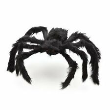 300mm Spider Halloween Decoration Haunted House Prop Indoor Outdoor Black