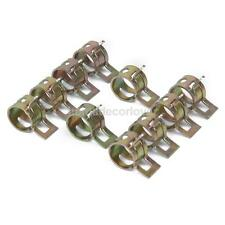 10x Spring Clip Fuel Hose Line Water Pipe Air Tube Clamps Fastener Dia.10mm