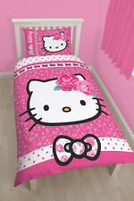 Hello Kitty Kinder Bettwäsche Sommerwind Bettgarnitur Kinder Set 135x200 neu
