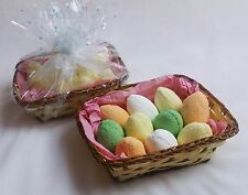 Bath Bombs Egg Shape Fizzers Gift Set Mixed Fab Scents Perfect Christmas Basket