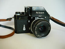 Nikon F photomic, nº 6950666 de 1968, con Nikkor 35mm, 1:2 .8
