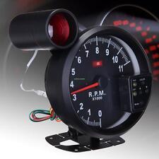 Auto LED 7 COLORI Tachimetro Manometro Contagiri Con Indicatore di Cambiata