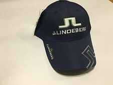 New J Lindeberg Golf Cap Hat Inc Magnetic Ball Marker One Size Fits All JL J L