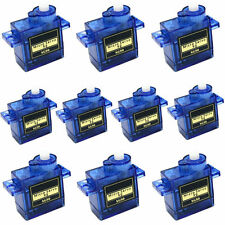 10PCS 9G micro servo motor RC Robot Arm Helicopter Airplane Remote Control New