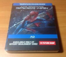 -NEW- The Amazing Spiderman Steelbook (Blu Ray / DVD) Region Free, Spider-Man