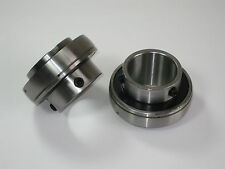 "2 NEW SEALED BALL BEARINGS  GO KARTS, PLATED 1-1/4"" REAR AXLE BEARING. USA!!"