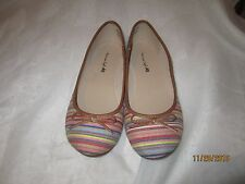 American Eagle Brand Striped Fabric Slip On Shoes - 8M