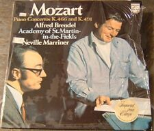 "Album By Alfred Brendell, ""Mozart: Piano Concertos"" on Phillips (Holland)"
