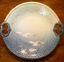 Bing And Grondahl Seagull Pattern Cake Plate-304