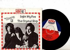 DOORS 7'' PS Light My Fire Sweden VERY RARE KFF 715 UNIQUE Swedish COVER 45