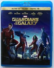 MARVEL GUARDIANS OF THE GALAXY 3D BLU RAY 2 DISC SET FREE WORLD WIDE SHIPPING