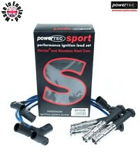 PowerTEC Sport 8mm Ignition Leads Wires Cable Mercedes 190E Cosworth 2.3/2.5 16v