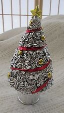 "Collectible Reed & Barton Revolving Musical Christmas Tree- plays ""O Tannenbaum"""