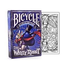 Bicycle The White Rabbit Playing Cards Deck by Albino Dragon Unlimited Version