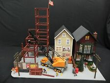 """Complete O Scale """" City Under Construction """" Diorama [ Built Up ]"""
