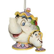 Disney Traditions A21431 Mrs Potts and Chip Hanging Ornament