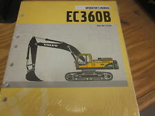 Volvo EC360B Hydraulic Excavator Operators Manual 11226-