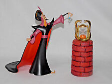 "WDCC DISNEY VILLAINS ALADDIN ""OH MIGHTY EVIL ONE"" JAFAR DEALER DISPLAY"
