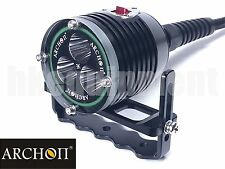 Archon DH30 3x Cree XM-L U2 Canister Scuba Snorkeling Diving LED Headlight