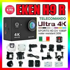 4K WIFI SPORT ACTION CAMERA TELECOMANDO HD 12MP VIDEOCAMERA EKEN H9 R GO PRO H9R