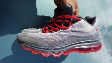 NIKE AIR MAX 95 DYNAMIC FLYWIRE SIZE 11 RED/GRAY TONE 554715-060
