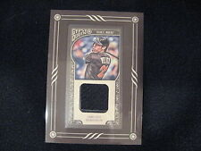 CHRISTIAN YELICH GAME-USED RELIC CARD--2015 GYPSY QUEEN