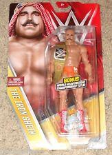 WWE Iron Sheik Series 59 Basic Figure Chase with Belt Championship New Mattel