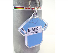 Fausto Coppi Bianchi 1951 Cotton Cycling Jersey Keyring Tour De  France Rapha