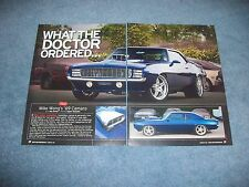 """1969 Camaro RS Pro-Touring Article """"What the Doctor Ordered..."""""""
