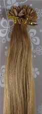 "AAA+ 18""-32"" Remy Human Hair Extensions Straight Nail U-tip 100s 1g/s 100g UK"