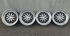 "RIAL DAYTONA 18"" 5x112 8.5/9.5 AUDI VW MERCEDES Stance tedesco no BBS RS OZ AMG"