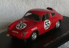 Abarth 700S #55 Le Mans 1961 rot  1:43 Spark Modellauto / Die-cast