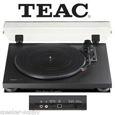 Teac TN-100 Turntable Vinyl Record Player w/ Preamp & USB Digital Output Black