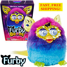 Furby BOOM Crystal Series Pink ,Purple, Blue NEW SEALED Ages 6+ ITEM #B1889