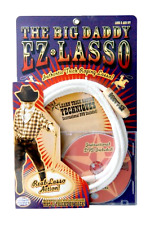 Big Daddy EZ Lasso w/ DVD Indoor/Outdoor Cowboy Cowgirl Rodeo Star Play Toy, New