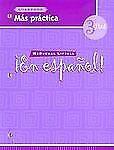 ¡En español!: Más práctica (cuaderno) Level 3 (Spanish Edition), MCDOUGAL LITTEL