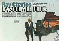 Coupure de presse Clipping 2004 Ray Charles   (8 pages)